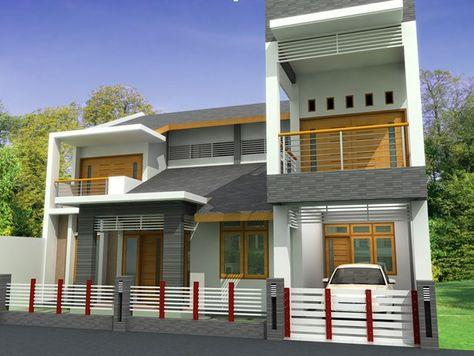 desain rumah minimalis modern 1 dan 2 lantai | rumah