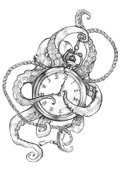 Octopus holding time