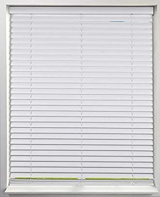 Arlo Blinds White Cordless 2 Inch S Wave Venetian Blind Size 30 W X 60 H Curved Slats Provide More Privacy Review Blinds Venetian Blinds Horizontal Blinds