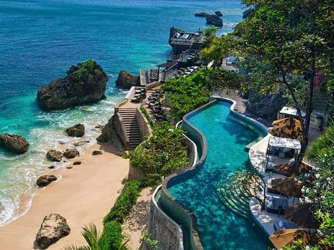 8 Coolest Luxury Hotels In Bali - http://www.dmarge.com/2014/04/8-coolest-places-stay-bali.html honeymoon nov 2015