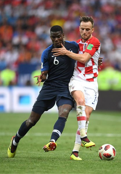 Paul Pogba Photos Photos France V Croatia 2018 Fifa World Cup Russia Final World Cup Soccer World Cup 2018 Russia World Cup