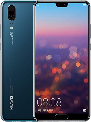 Huawei P20 Eml L29 128gb 4gb Ram Dual Sim Lte 5 8 Full Hd Display Dual Camera 20 Mp 12 Mp Gsm Unlocked International Model Dual Sim Smartphone Huawei