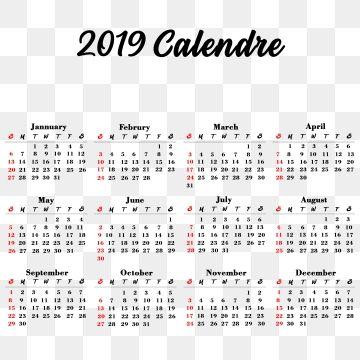 Marca Calendario.Calendario 2019 Calendario 2019 Calendario 2019 Elegante Colorido