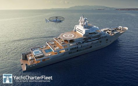 Best Mega Jachty Images On Pinterest Surf Bicycle And Boats - Giga yacht takes luxury oil tanker sized extreme