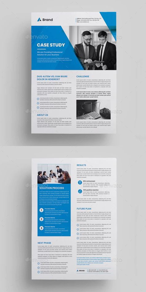 Case Study Template Preview