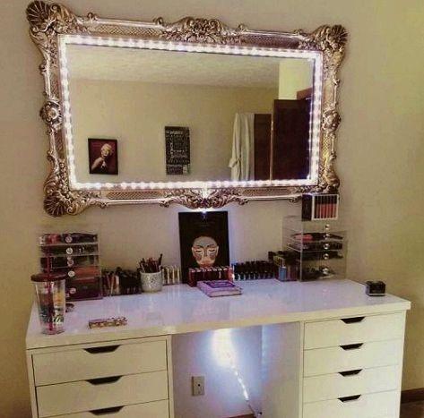 Bedroom A Makeover Diy Vanity Mirror