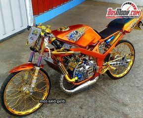Download Kumpulan Modifikasi Motor Ninja Rr Airbrush Terbaru 40