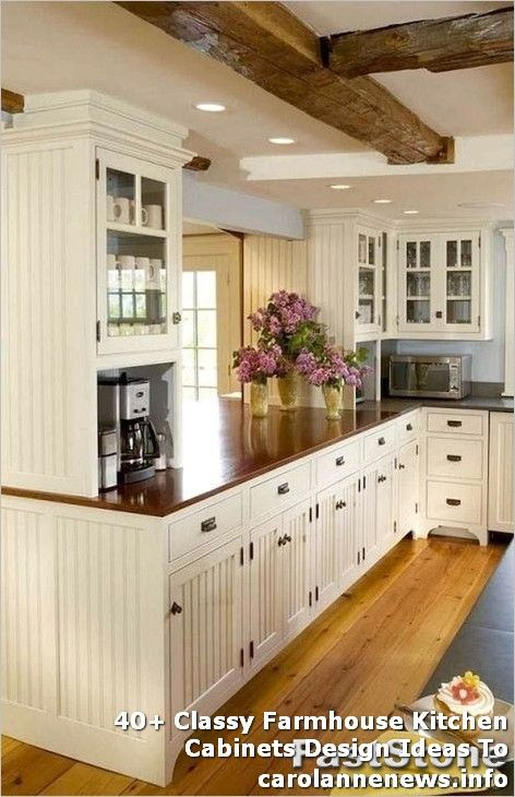 Country Style Kitchen Cabinets Pictures 40+ #Classy #Farmhouse #Kitchen #Cabinets #Design #Ideas #To #Copy