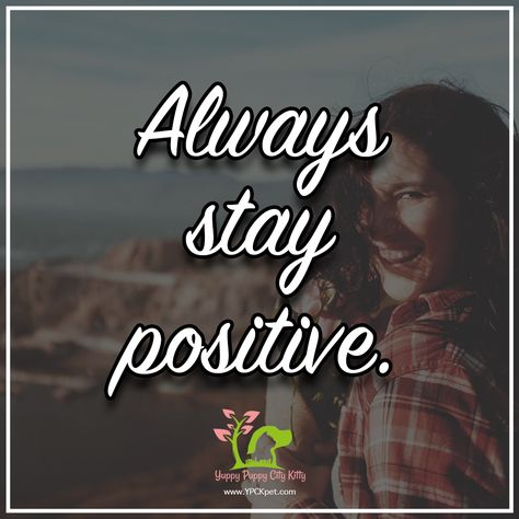Always Remember To Stay Positive No Matter What Happens In Your