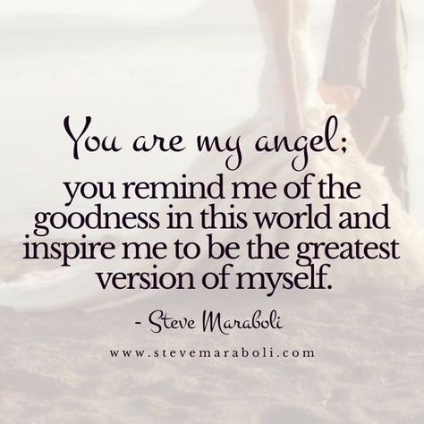 You Are An Angel - This is one extremely beautiful quote where a mother says to her daughter that you…