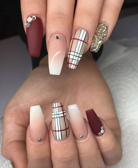 Fall nails for black women