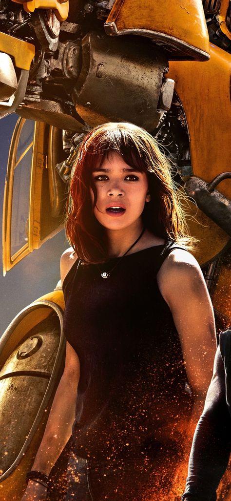 Bumblebee, Hailee Steinfeld, movie, 2018, 1125x2436 wallpaper