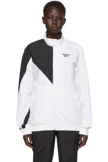Reebok Classics - White   Black Lost   Found Track Jacket  1422207c0