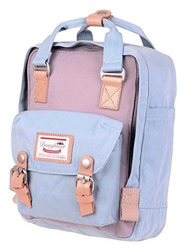 Doughnut Macaroon Mini Pastel 7L Travel School Ladies College Girls Lightweight Casual Daypacks Bag Small Backpack