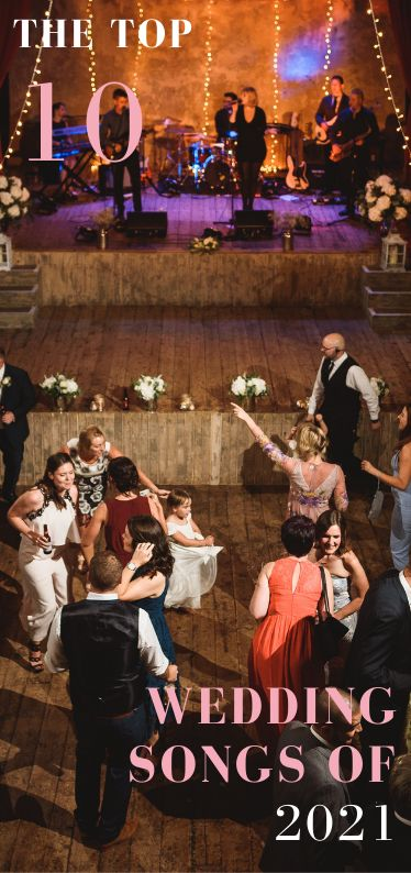 The 10 biggest wedding songs for 2021 are here! First dances, last dances, ceremony tear jerkers and many more are covered in our amazing top 10 list. Click the link to reveal all... You don't want to miss No. 5! #weddingsongs #weddingsong #weddinginspo #2021 #weddingsongs #weddingplanning #top10 #firstdance #lastdance #ceremonymusic