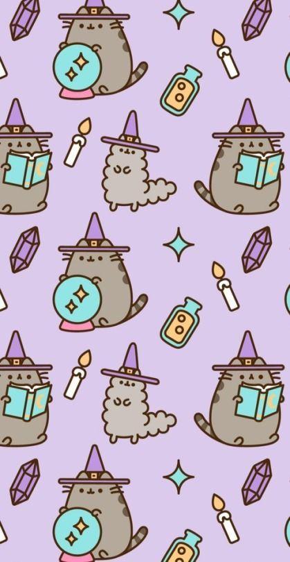 Kawaii Halloween Google Search Google Halloween Kawaii Search Halloween Wallpaper Kawaii Halloween Pusheen Cat