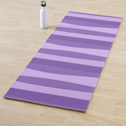 Abstract Pattern Purple Yoga Mat Zazzle Com With Images