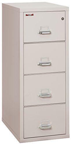 Fireking Fireproof Vertical File Cabinet 4 Legal Sized Drawers Impact Resistant Waterproof 52 75 Filing Cabinet 4 Drawer File Cabinet Cabinet