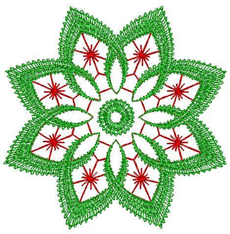 free embroidery designs   Pretty Ornament Design 27   FREE Embroidery Designs   Floral, Baby ...