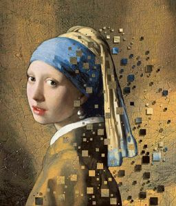 vermeer jeune femme au collier de perles