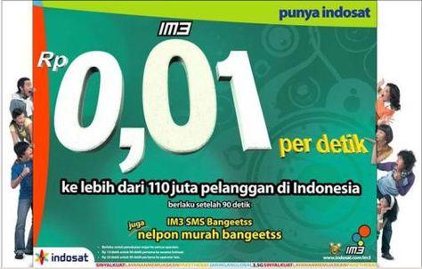 Salah Satu Iklan Indosat Yang Begitu Kreatif Setuju Periklanan