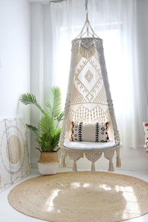 Macrame Chairs, Macrame Hanging Chair, Hanging Swing Chair, Large Macrame Wall Hanging, Swinging Chair, Hammock Chair, Cat Hammock, Crochet Hammock, Hanging Chairs