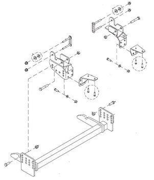 HN25013286 --- Hiniker Quick-Hitch Plow Mount Kit for Dodge 2500-3500  sc 1 st  Pinterest : hiniker plow wiring diagram - yogabreezes.com