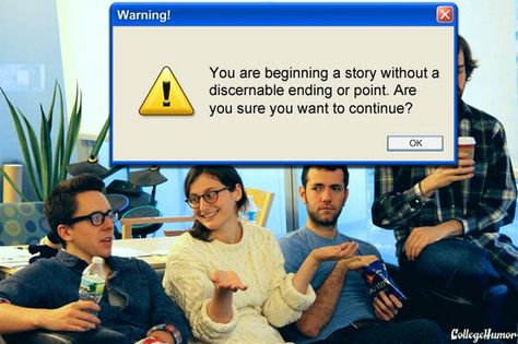 If Computer Warnings Existed in Real Life