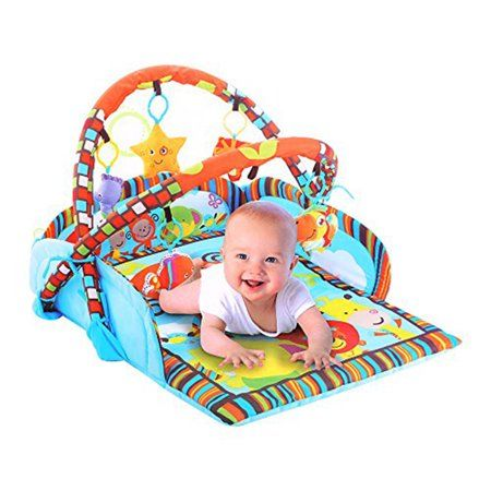 Karmas Product Baby Soft Activity Center Play Gym Mats Walmart Com Play Gym Baby Soft Activity Centers