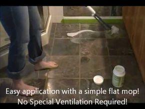 Grout Sealer From Stone Tile Floor