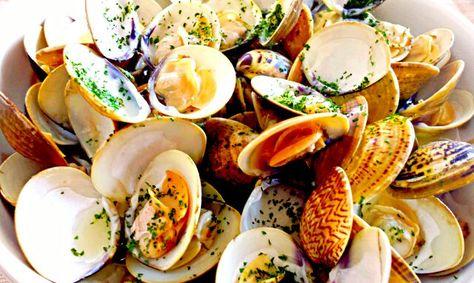 休日午後のワインのお供 蛤のワイン蒸し 食べ物のアイデア 蒸し 料理