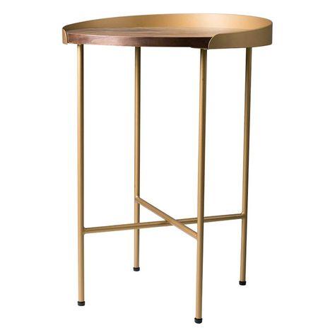 Folding Table Chunlan Small Coffee Table Metal Wrought Iron Edge