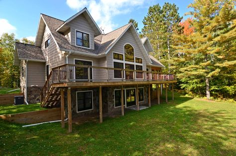 Lakeside Exterior with deck