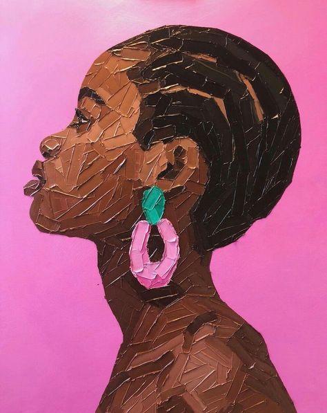 Elena Gual Impasto Portraits
