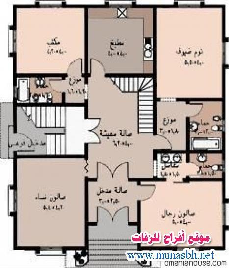 تصاميم منازل جزائرية House Floor Design My House Plans Family House Plans