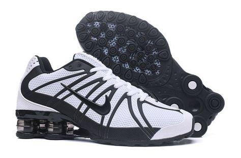 Nike Shox Kpu White Black Mens Running Shoes NIKE-NSZ002125 in 2019 ... 8695a1184