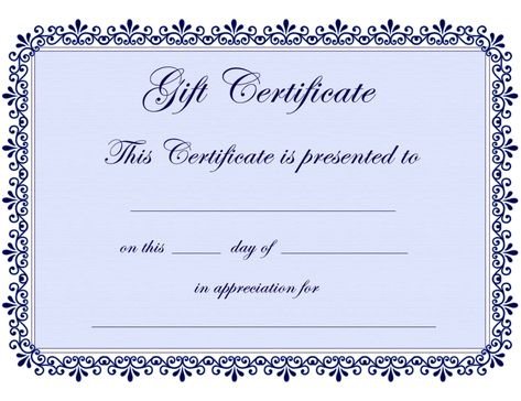 The 25 best free gift certificate template ideas on pinterest the 25 best free gift certificate template ideas on pinterest christmas present voucher templates gift certificate templates and free certificate yadclub Image collections