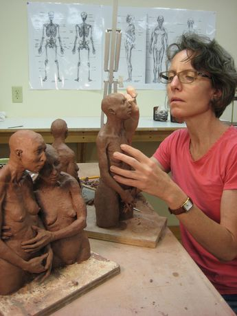 Ceramic sculpture of Melisa Cadell www. Bakersville, NC Source by whatdonnalikes