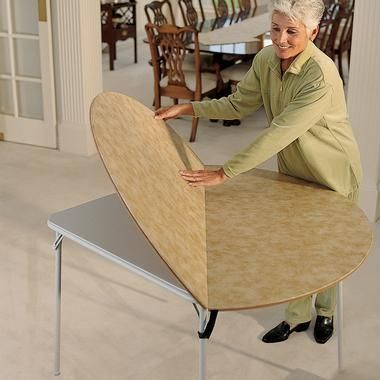 Table Extender 48 In Skymall, Round Card Table Extender