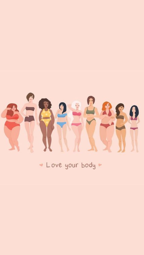 """✨Love Your Body✨ A great outfit has the power to make a woman feel confident, and we believe in celebrating our bodies and wearing what makes our souls happy! Understanding that it's hard to be a curvy girl in a society that pushes the idea that """"thin is always in"""", we're here to tell the world that fashion is for all bodies no matter their shape or size. Celebrate your beautiful, curvy body by wearing clothes that make you look as good as you feel. Body positive quotes. Body positive art."""