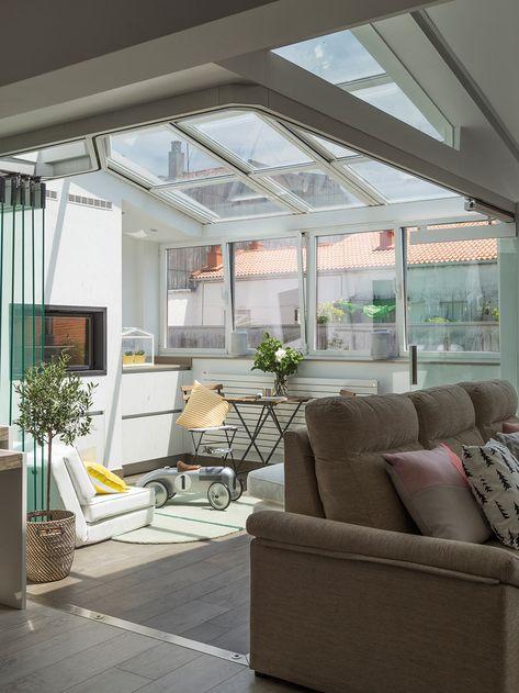 Une Terrasse Couverte Pour Agrandir L Espace En Espagne Casas