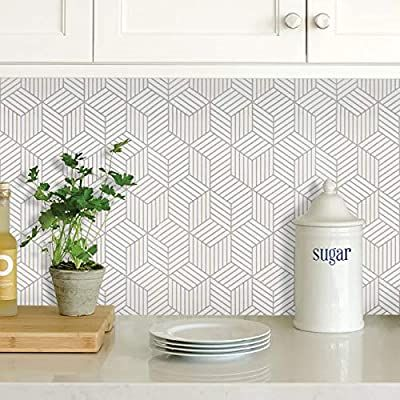 White And Silver Peel And Stick Wallpaper White Contact Paper 17 7 118 Sliver Stripe Wallpaper Self Adh In 2021 Hexagon Wallpaper Wallpaper Shelves Striped Wallpaper