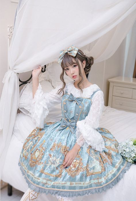 Angel's Heart -The Dream of Arcana- Lolita Normal Waist JSK
