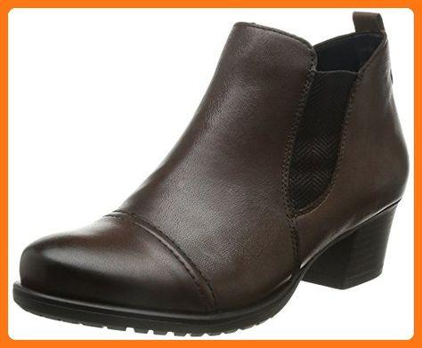 Remonte D3177, Damen Chelsea Boots, Braun (teakteak 25