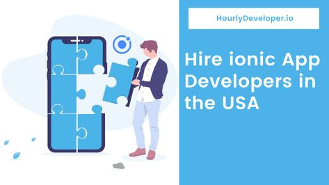Hire Ionic App Developers in the USA