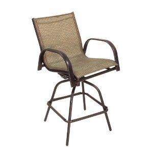 Peachy Living Accents Metropolitan Outdoor Sling Swivel Bar Stool Camellatalisay Diy Chair Ideas Camellatalisaycom