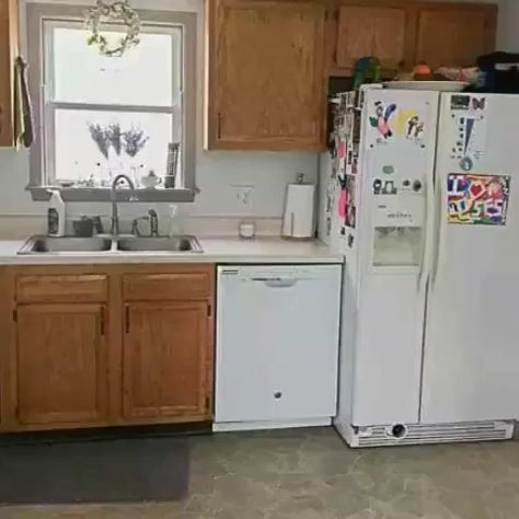 How To Paint Kitchen Cabinets Without Sanding Painting Kitchen Cabinets Kitchen Paint Diy Kitchen Remodel