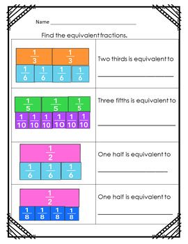Fractions Worksheets Bilingual Spanish Math Fractions Worksheets Spanish Math Fractions