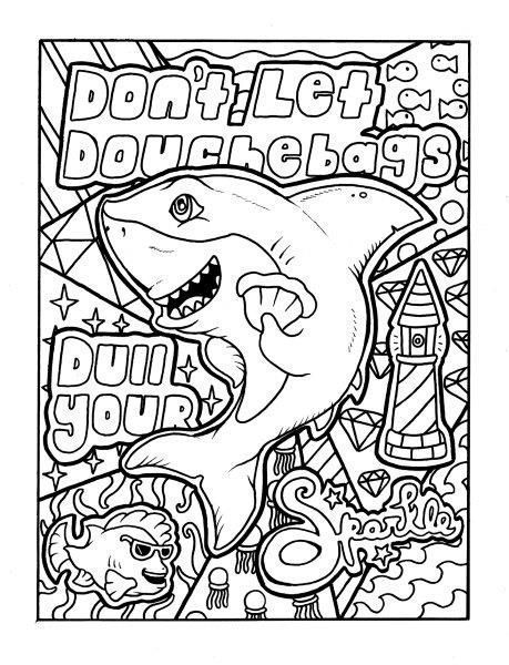 Click Visit To Check Out This Coloring Book On Amazon The Coloring Book This Coloring Page Comes F Words Coloring Book Swear Word Coloring Book Coloring Books