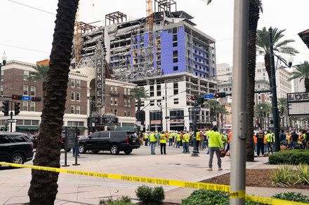 Hard Rock Hotel Collapses In New Orleans Hard Rock Hotel Hard